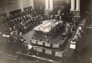 Photo of the House of representatives in Old Parliament House