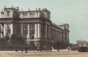 Photo of federal Parliament house c1913